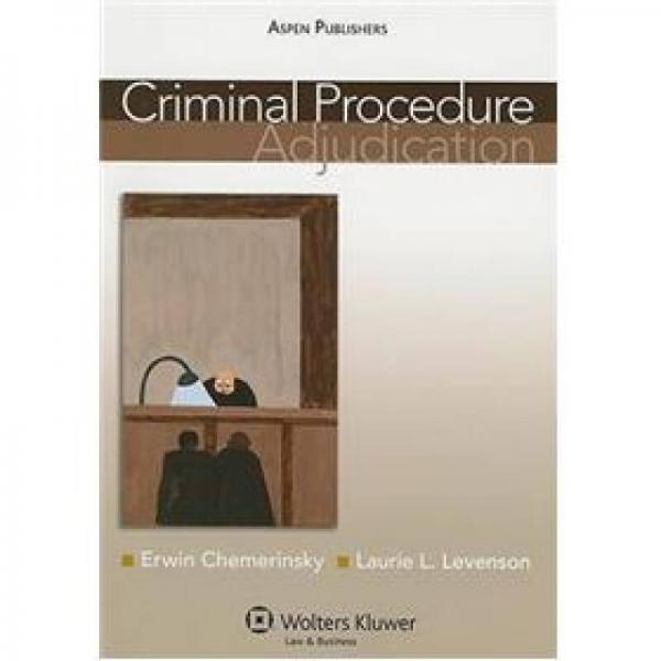 Criminal Procedure: Adjudication[刑事诉讼:审理]