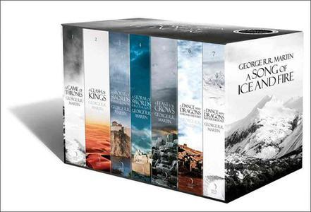 A Song of Ice and Fire Boxed Set, 7 Books