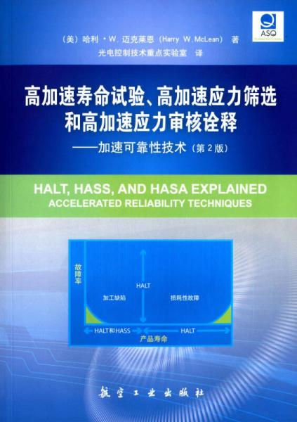 高加速寿命试验、高加速应力筛选和高加速应力审核诠释:加速可靠性技术(第2版)