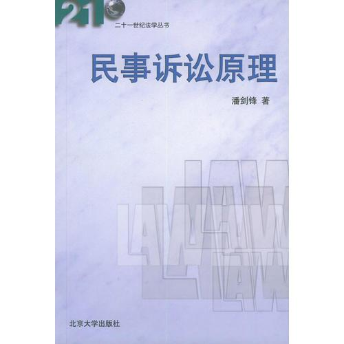 民事诉讼法原理(二十一世纪法学丛书)