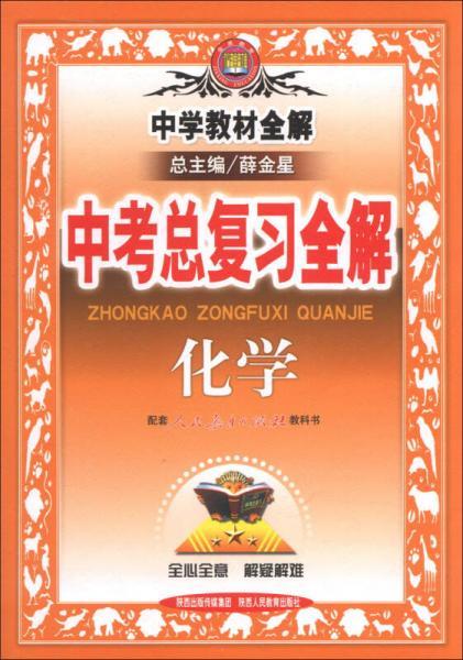 金星教育·中学教材全解·中考总复习全解:化学(人教版)(2013版)