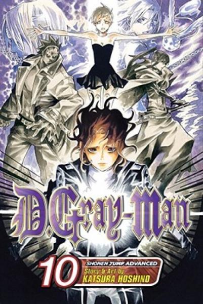 D.Gray-Man,Volume10[WithSticker]