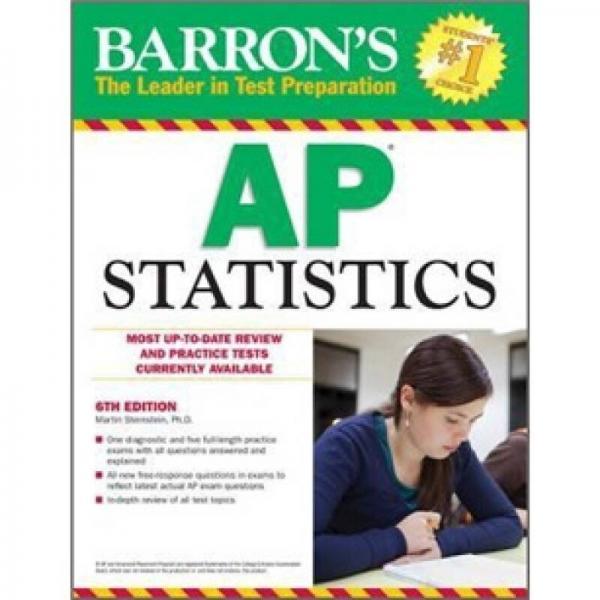 Barrons AP Statistics, 6th Edition