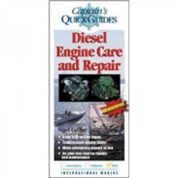 Diesel Engine Care and Repair: A Captain's Quick Guide [Pamphlet]