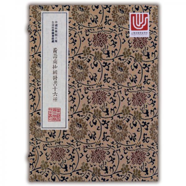 中华中医古籍珍稀稿钞本丛刊:黄寿南抄辑医书十六种
