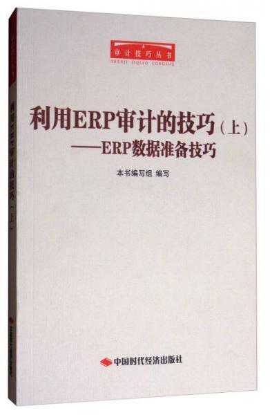 审计技巧丛书·利用ERP审计的技巧:ERP数据准备技巧(上)