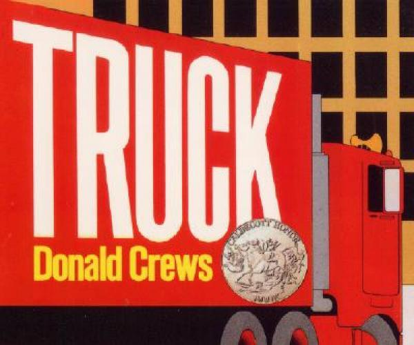 Truck (Board Book)卡车(纸板书) 英文原版