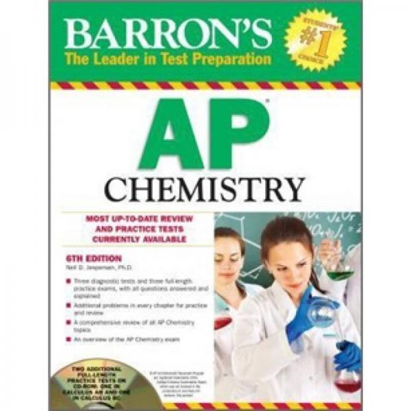 Barrons AP Chemistry , 6th Edition