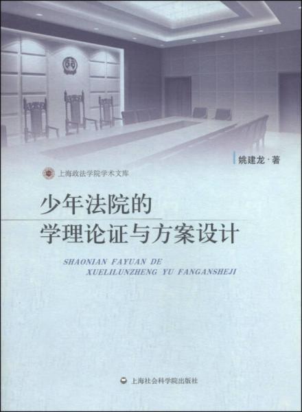 上海政法学院学术文库:少年法院的学理论证与方案设计