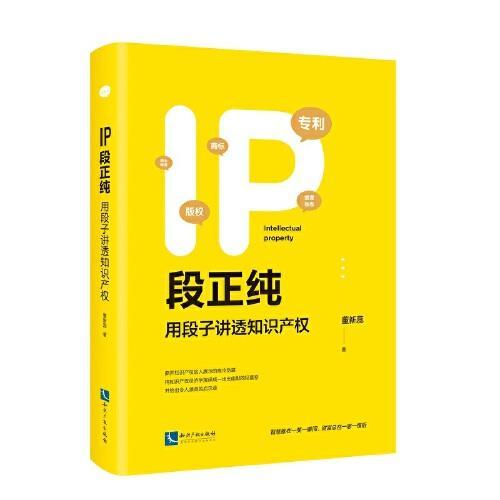 IP段正纯——用段子讲透知识产权