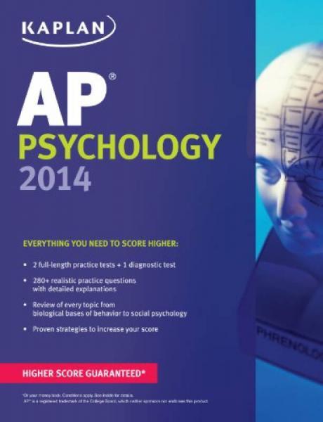 Kaplan AP Psychology 2014 (Kaplan AP Series)