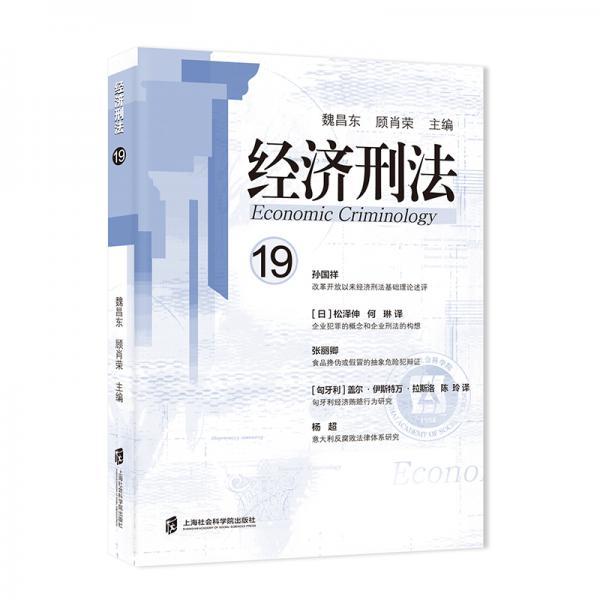 经济刑法(第19辑)
