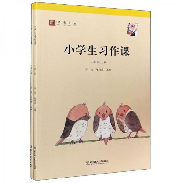 小学生习作课(一年级套装上下册)/师说文丛