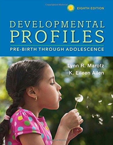 DevelopmentalProfiles:Pre-BirthThroughAdoles