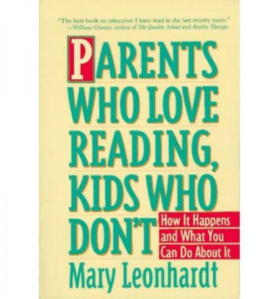 Parents Who Love Reading, Kids Who Dont