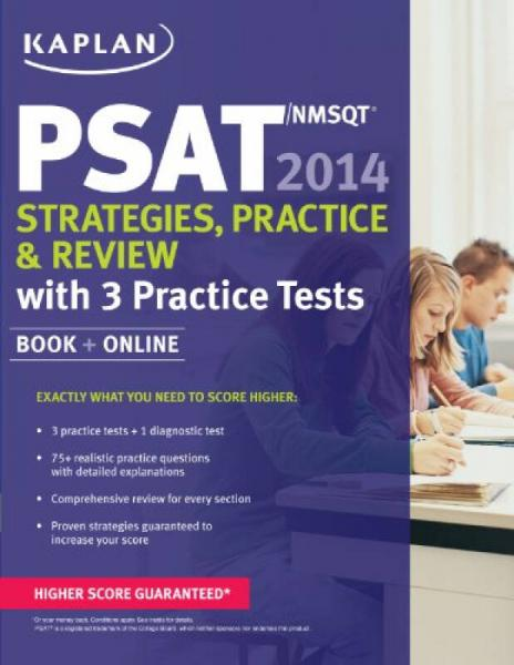 Kaplan PSAT/NMSQT 2014 Strategies, Practice, and Review: Book + Online