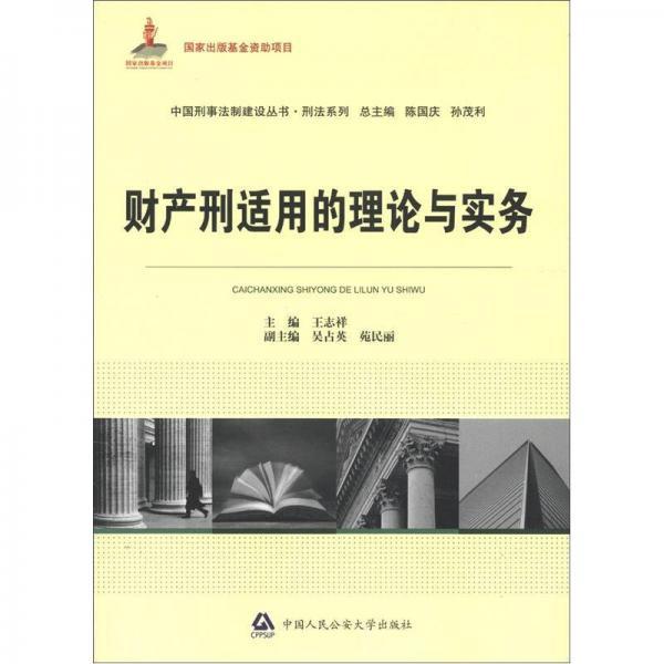 中国刑事法制建设丛书·刑法系列:财产刑适用的理论与实务
