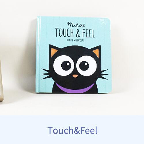 英文原版Milos Touch And Feel