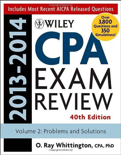 WileyCPAExaminationReview2013-2014,ProblemsandSolutions(Volume2)