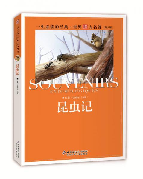 一生必读的经典世界十大名著(青少年版):昆虫记(超低价典藏版)