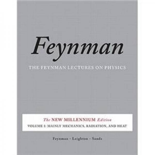 Feynman Lectures on Physics, Vol. I