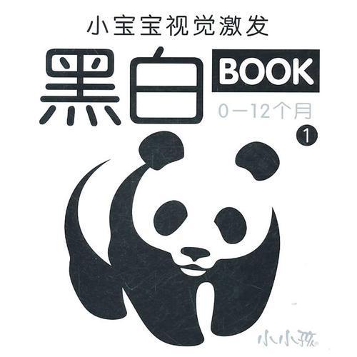 小宝宝视觉激发黑白BOOK  1 (0-12个月)