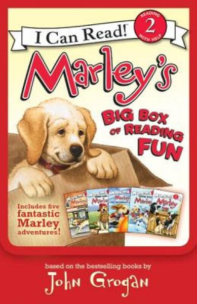 Marleys Big Box of Reading Fun (I Can Read, Level 2)[小狗马利有趣的阅读合集]