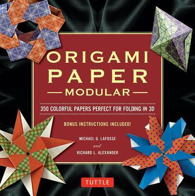 ModularOrigamiPaperPack:350ColorfulPapersPerfectforFoldingin3D