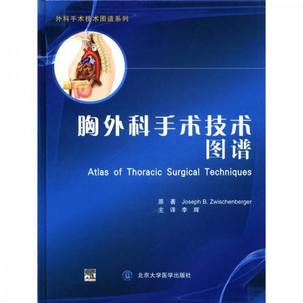 外科手术技术图谱系列:胸外科手术技术图谱