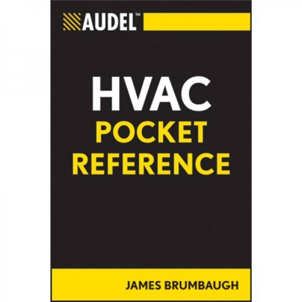 AudelTM HVAC Pocket Reference[Audel HVAC袖珍参考]