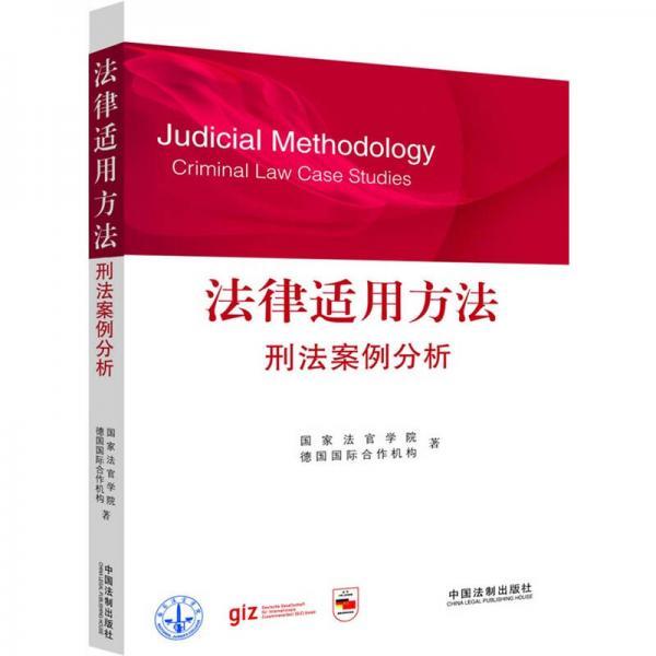 法律适用方法:刑法案例分析