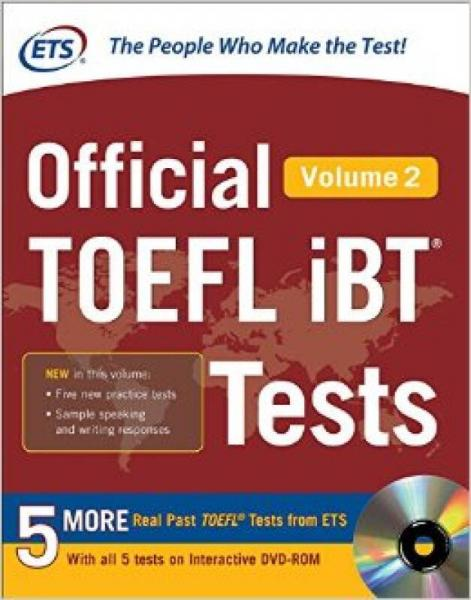 Official Toefl Ibt Tests With Dvd Volume 2