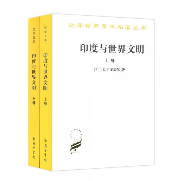 汉译名著本17:印度与世界文明(套装共2册)