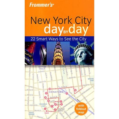 (纽约每日导览)FROMMERS NEW YORK CITY DAY BY DAY, 1ST EDITION