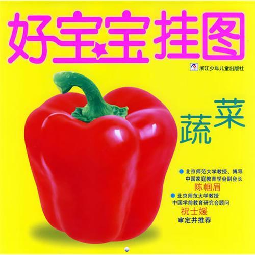好宝宝挂图·蔬菜(注音版)