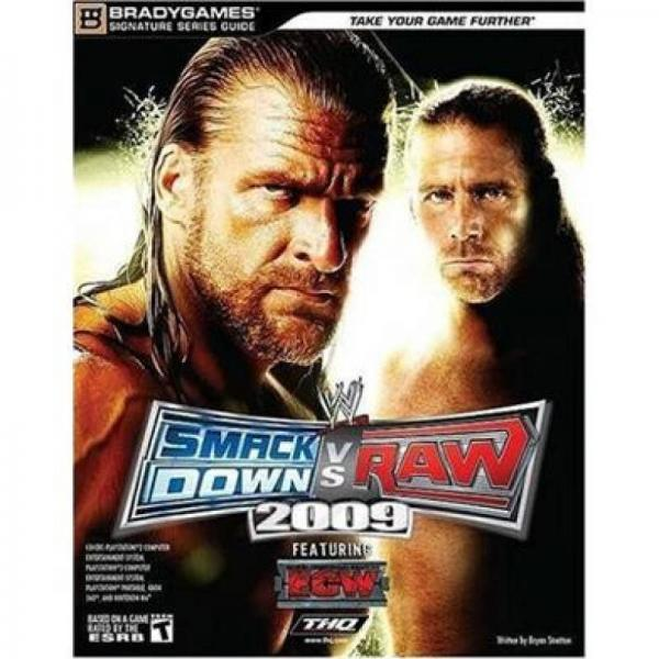 WWE Smackdown vs Raw 2009 Signature Series Guide (Brady Games)
