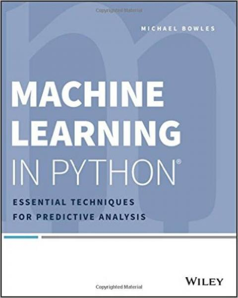 Machine Learning in Python