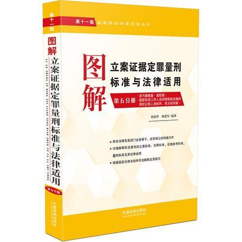 图解立案证据定罪量刑标准与法律适用(第十一版,第五分册)