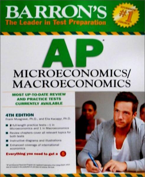Barrons AP Microeconomics/Macroeconomics, 4th Edition