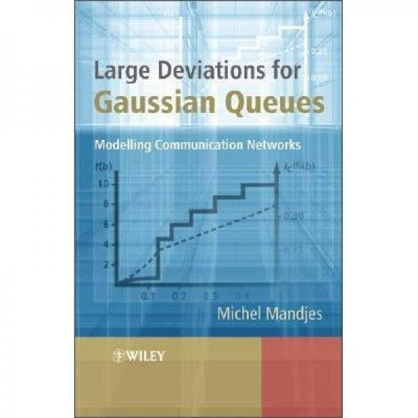 Large Deviations for Gaussian Queues: Modelling Communication Networks