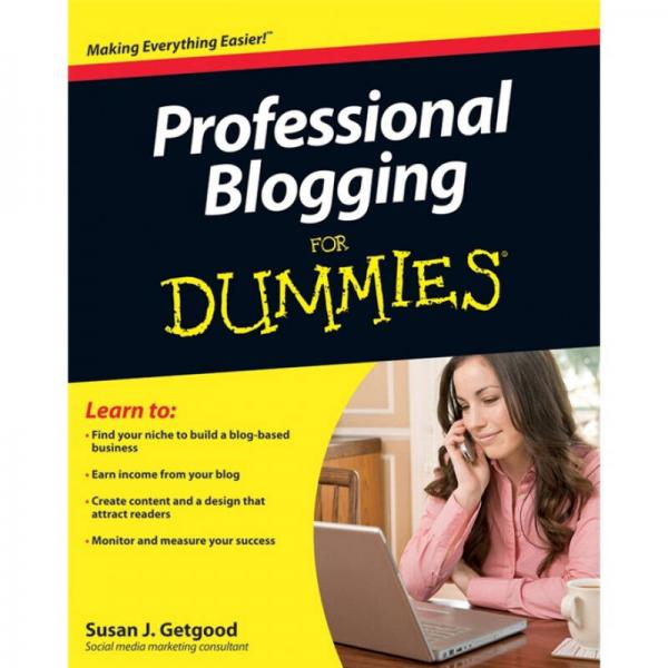 Professional Blogging for Dummies  傻瓜书-专业博客