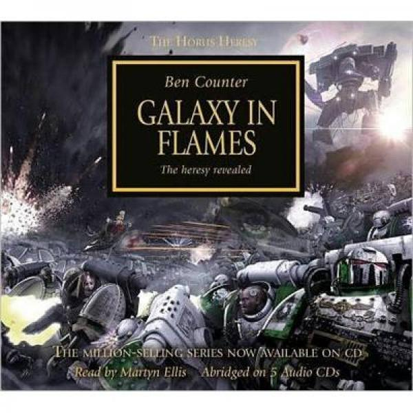 Galaxy in Flames [Audio CD]