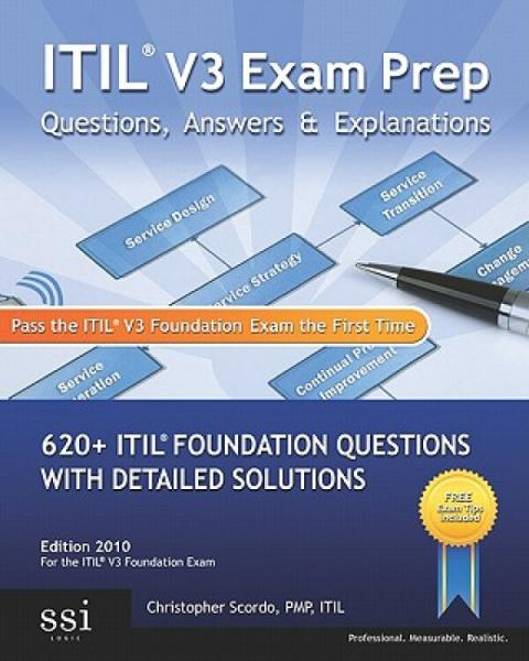 ItilV3ExamPrepQuestions,Answers,&Explanations