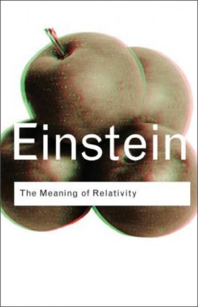 The Meaning of Relativity[相对论的含义]