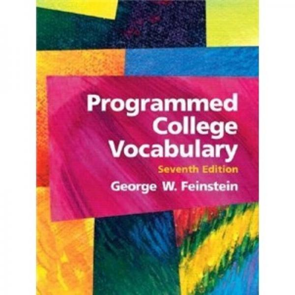Programmed College Vocabulary (7th Edition)