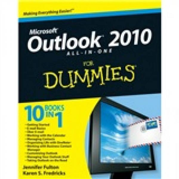 Outlook 2010 All-in-One for Dummies  傻瓜书-Outlook 2010全书