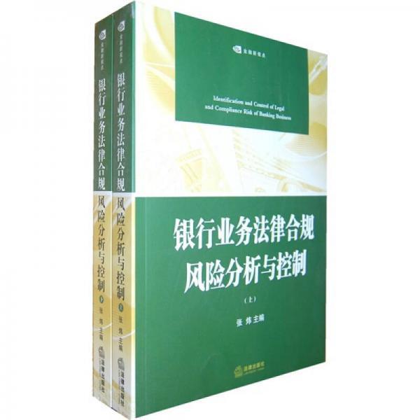 银行业务法律合规风险分析与控制(上下册)