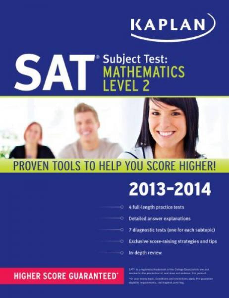 Kaplan SAT Subject Test Mathematics Level 2 2013-2014 (Kaplan SAT Subject Test Series)