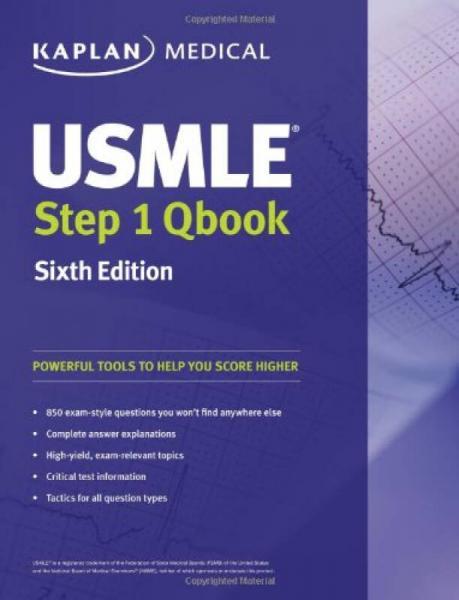 USMLE Step 1 QBook (Kaplan Medical Books)