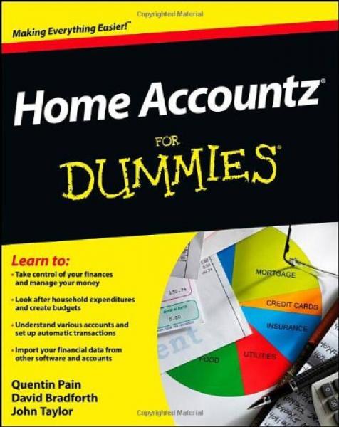 Home Accountz For Dummies[Home Accountz 达人迷,第2版]